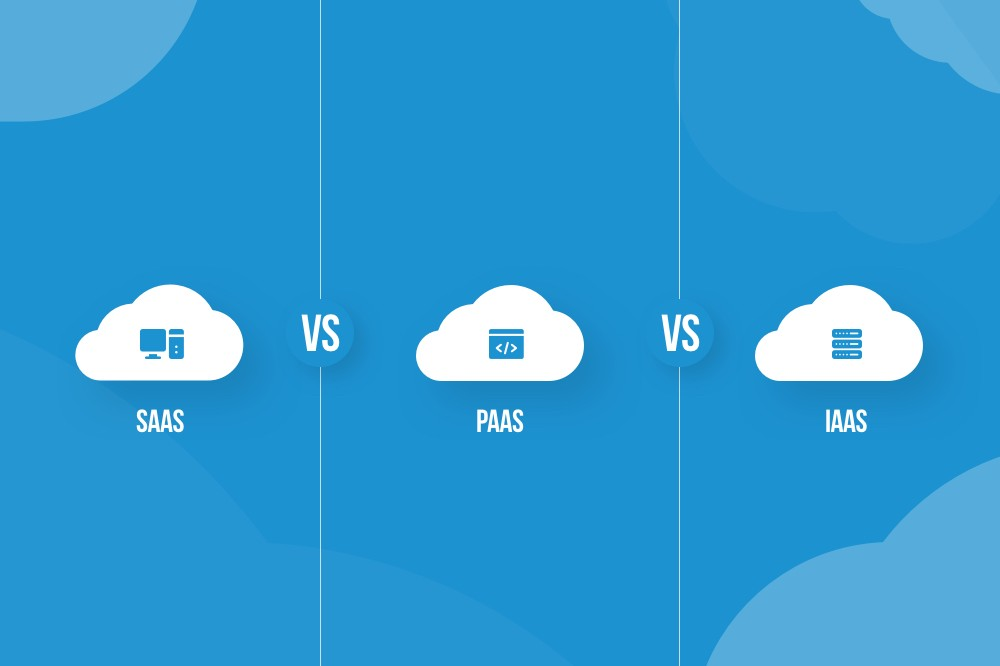 SaaS vs PaaS vs IaaS - Definition, Differences and Examples