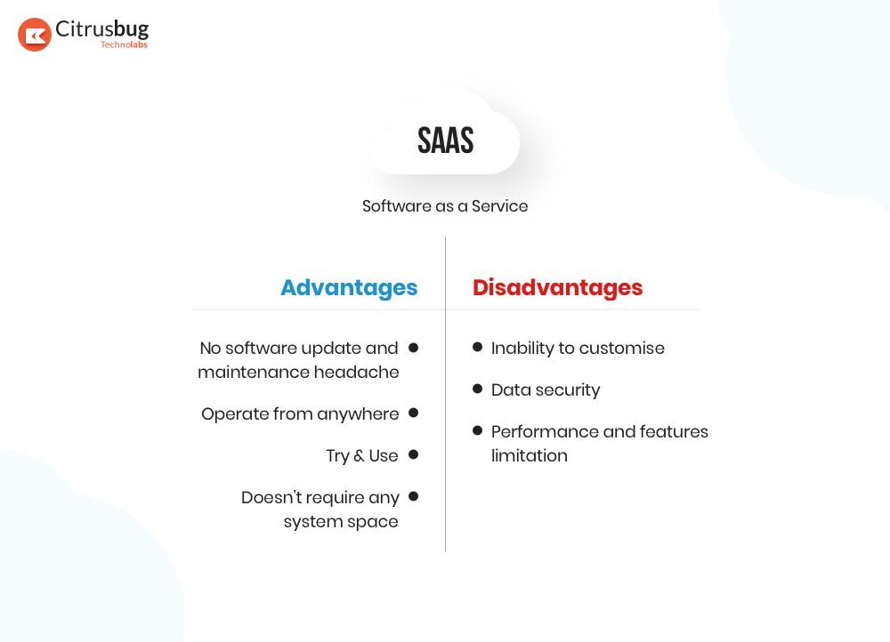 SaaS advantages and disadvantages