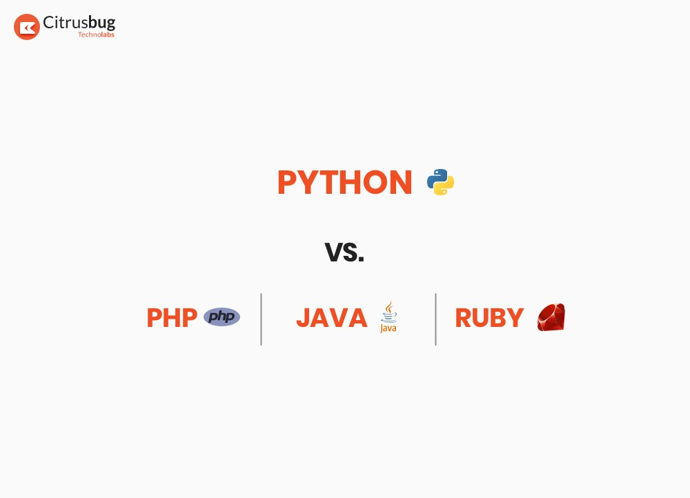 Comparison of Python with Ruby, Java and PHP