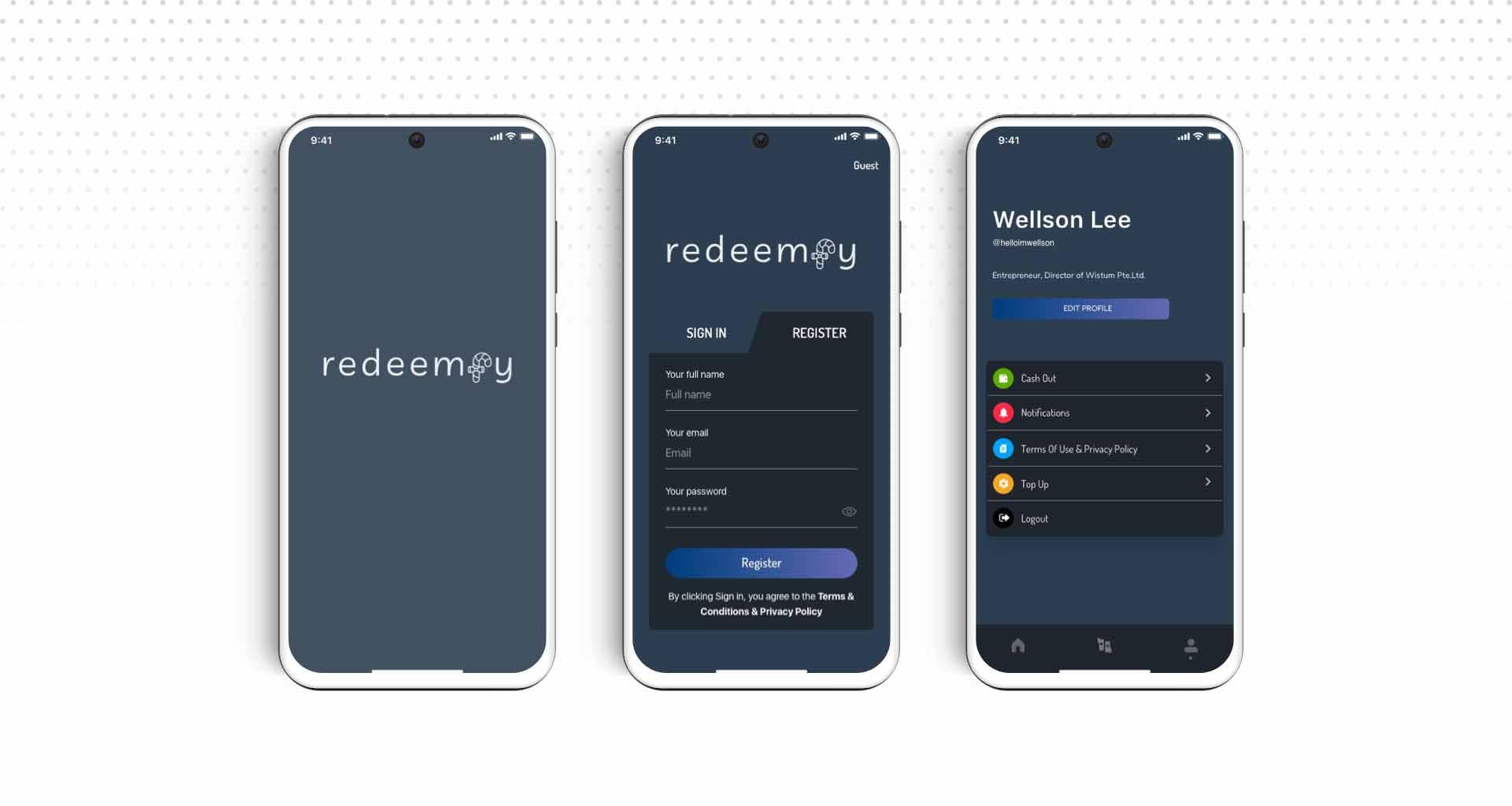 Redeemfy App
